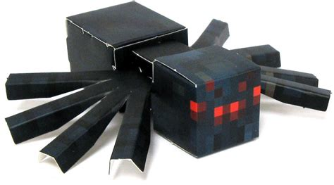 Minecraft Papercraft Spider - minecraft cave spider papercraft on sale at toywiz
