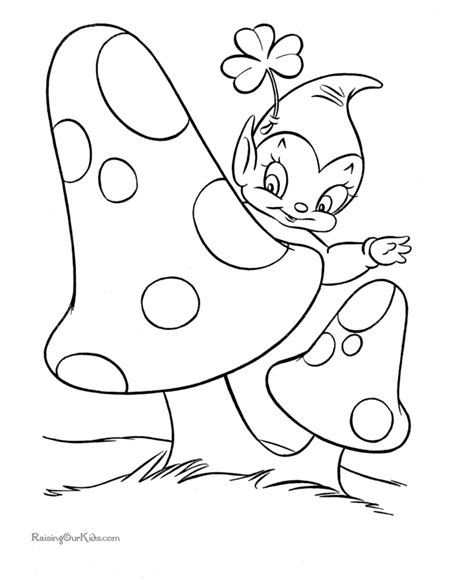 St Patrick Coloring Pages St Patricks Coloring Pages