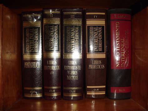 biblia interlineal griego espanol biblia interlineal hebreo y griego espa 241 ol clie pdf 6 tomos bs 50 000 00 en mercado libre