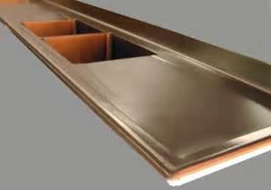 Modern Backsplashes For Kitchens Stainless Steel Countertop Brooks Custom
