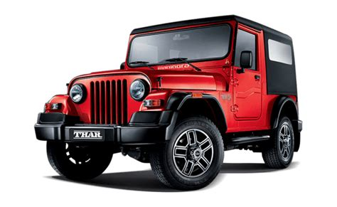 jeep car mahindra price mahindra thar price in india images mileage features