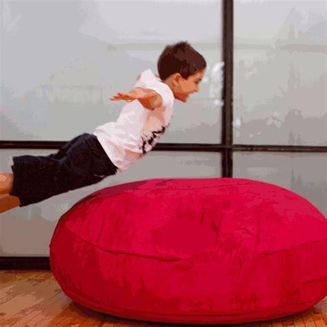 cuddly soft bean bag chair jaxx cocoon jr flat floor pillow soft squishy chair and