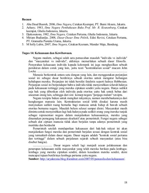 Ilmu Negara H Abu Daud Busroh Buku Hukum B58 ilmu negara rpp