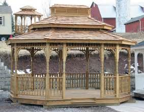 Wood Gazebo For Sale by Gazebos For Sale