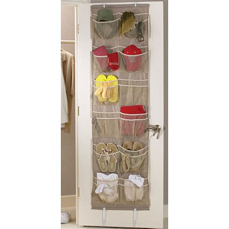 over the door organizer over the door 24 pocket organizer in over the door shoe racks