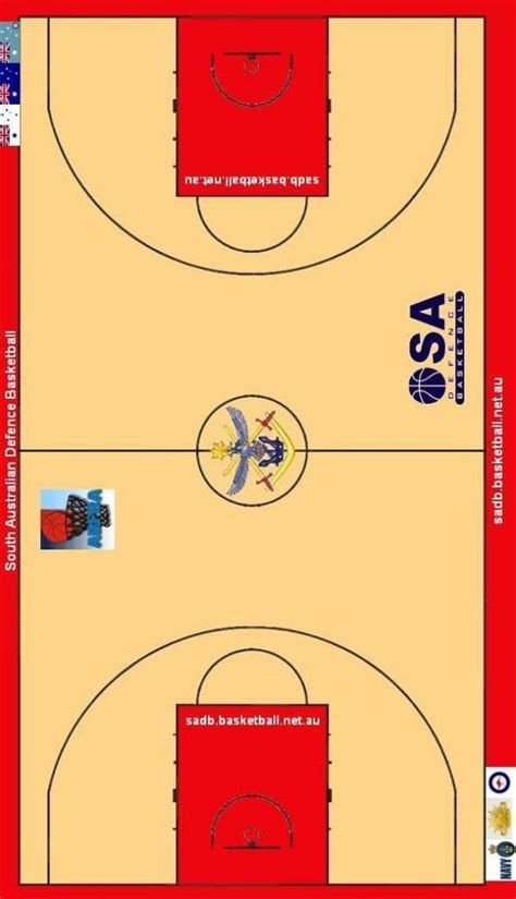 basketball key template sadb template basketball court south australian
