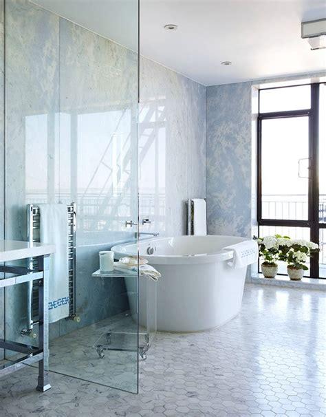 Open Shower Bathrooms Open Shower Design By Hepfer Designs