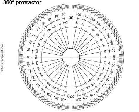 protractor print log 360 186 protractor print on transparency sheet could do