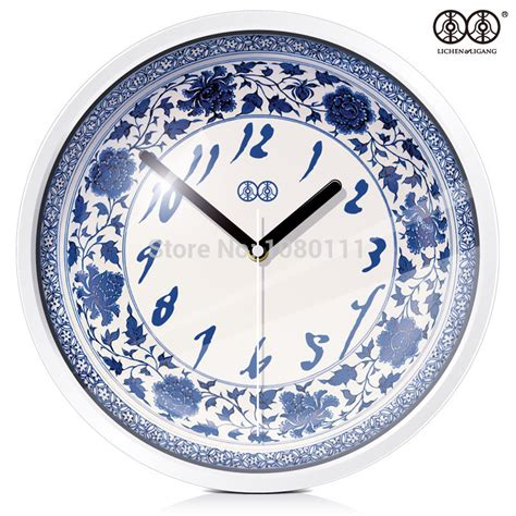 Hanging Wall Clock White 1 creative hanging clock style wall clock blue and