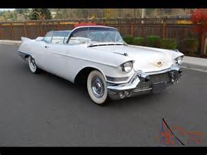 57 Cadillac Convertible For Sale 57 Cadillac Eldorado