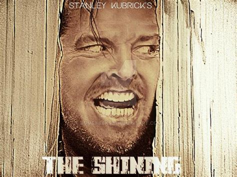jack nicholson the shining movie jack nicholson the shining fan art movie poster by