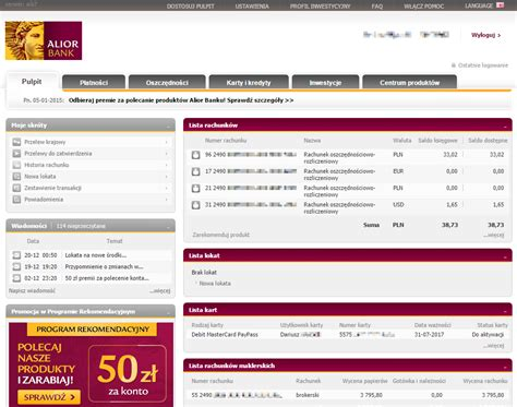 alior bank pl bankowość internetowa alior bank technologia