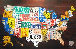 the tin snip times now selling 60 quot license plate map of