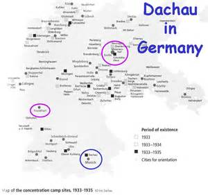 Concentration Camps In Germany Map by Exhibiting Dachau 1945 2005 2007 Lecture