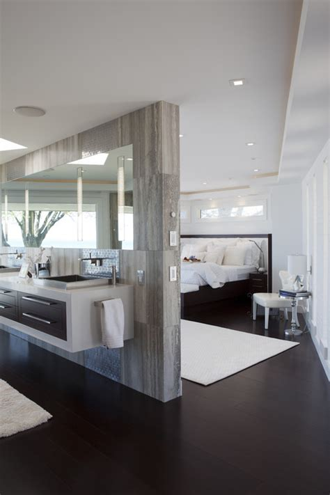 Modern Bathroom Design Houzz Open Concept Bathrooms Design Inspirations