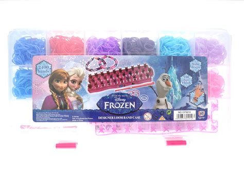 Refill Diy Rainbow Loom Bands Frozen Disney Jelly Transparan Colour 1 frozen rainbow loom car interior design