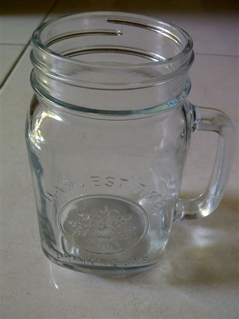 Gelas Gagang Bukan Kaca Beling harvest time glass jar for cafe resto coffee shop home jar gelas gelas