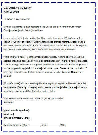 documentaci 243 n y tr 225 mites modelo de carta de invitacin para un extranjero carta de