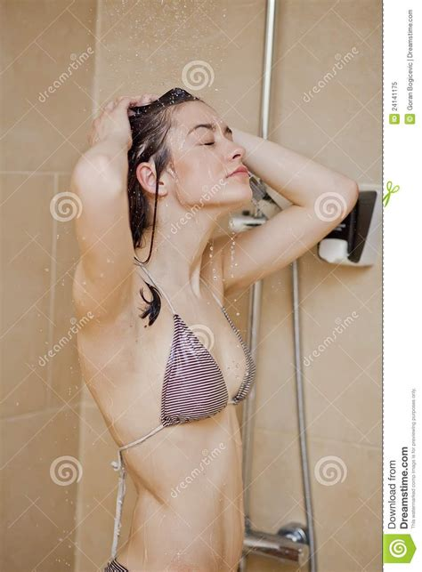 Pictures Of In The Shower by In The Shower Royalty Free Stock Photo Image 24141175