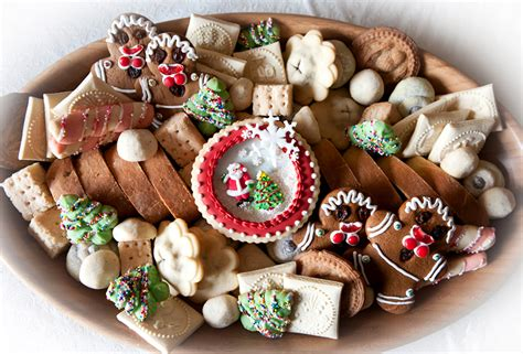 christmas cookie platter ideas december 2011 all sparkled up
