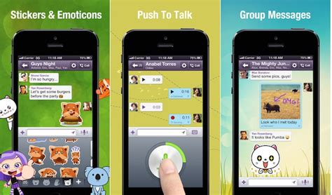 viber app for android viber updates android and iphone apps with push to talk