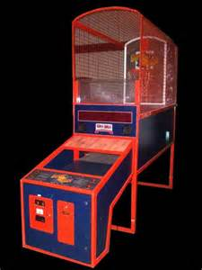 Super shot basketball arcade game oh how i love beating louis at this