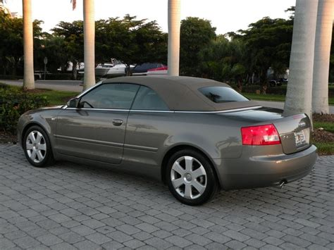 Audi A4 Convertible 2006 For Sale by 2006 Audi A4 1 8t Convertible For Sale In Fort Myers Fl