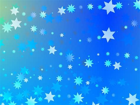 wallpaper biru bintang free illustration background abstract blue stars