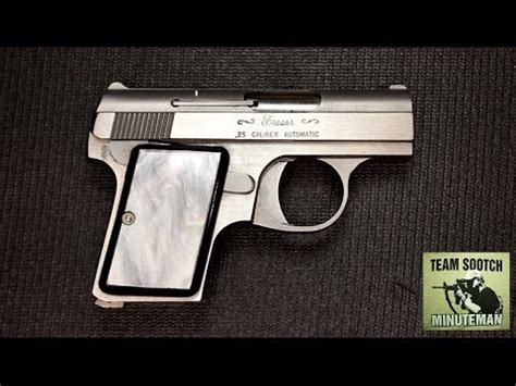 25er Auto by Fraser 25 Auto Review Baby Browning Clone Made By Bauer