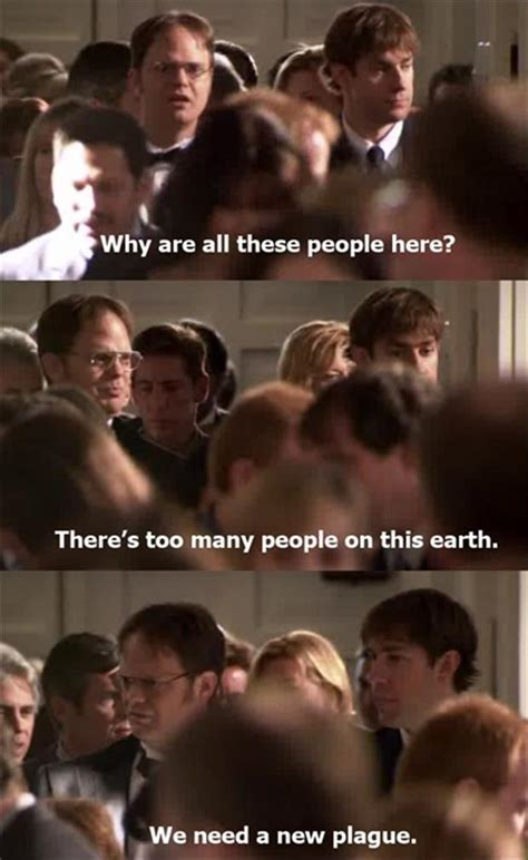 Dwight The Office Funny Quotes