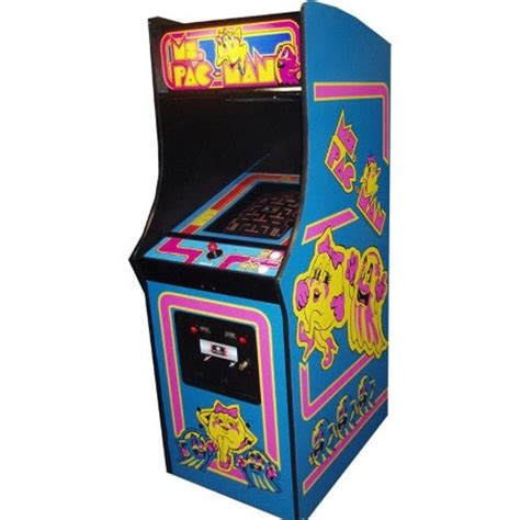 pac man arcade cabinet ms pac man 60 in 1 multicade game plan entertainment