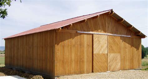 hangar bois en kit ferme bois batiment agricole
