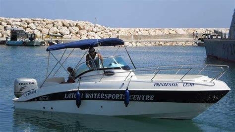 self drive boat hire for divers at latchi watersports centre - Self Driving Boat Hire
