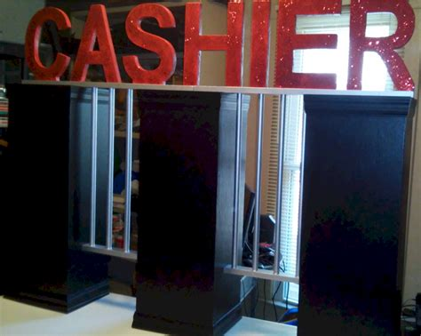 Cage Cashier by Cashier Cage Prop Corporate Business Entertainment Casino Rentals In Wichita Ks