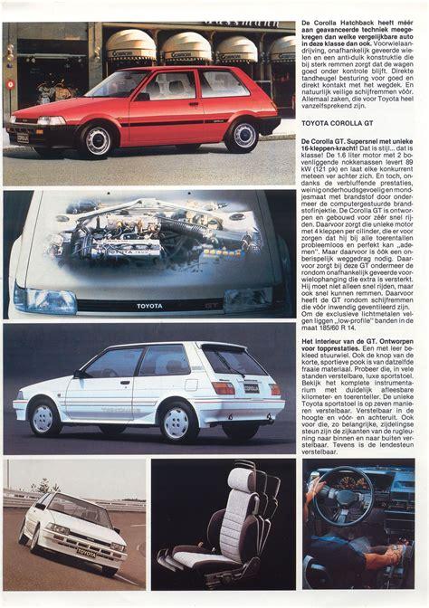 Toyota Brochures Toyota Corolla Hatchback Brochure