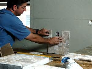 How To Install A Kitchen Backsplash Video by How To Install A Backsplash In A Kitchen How Tos Diy