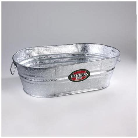 5 5 gallon galvanized oval tub lowe s 10 98 or ones