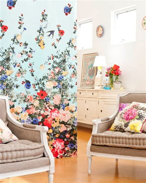flower wallpaper for living room useful ideas on how to decorate your living room