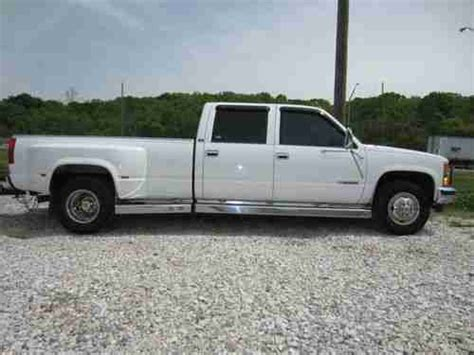 how petrol cars work 1997 chevrolet 3500 interior lighting purchase used 1997 chevy 3500 dually 454 auto comes with a 2012 extra tuff trailer 24 102 quot in