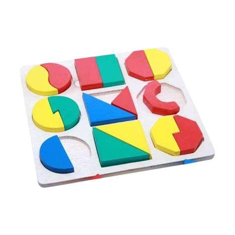 jual kidzntoys puzzle smgb timbul multicolor mainan