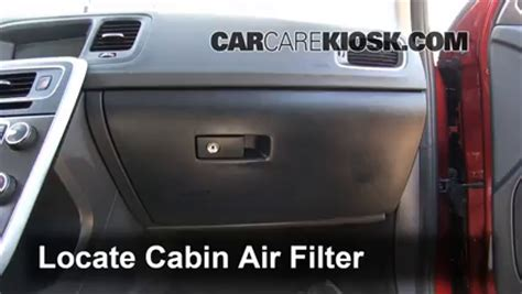 cabin filter replacement: volvo s60 2011 2016 2012 volvo