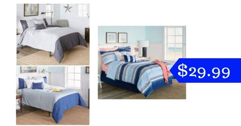 big lots bed in a bag just home bed in a bag for 29 99 southern savers