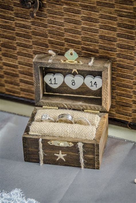 20 unique ring bearer boxes and pillows that are