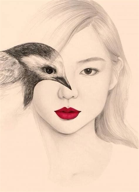 imagenes coreanas llorando m 225 s de 25 ideas incre 237 bles sobre dibujos de p 225 jaro en