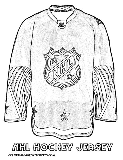 coloring pages of hockey jerseys back of a hockey jersey pages coloring pages