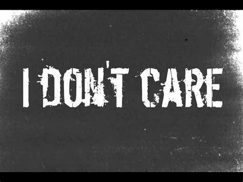 Ido Not Care i don t care apocalyptica lyrics