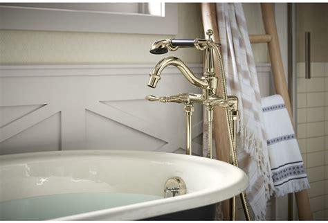Kohler Finial Deck Mount Bath Faucet K 8673t 4m Cp faucet k 331 4m af in gold by kohler