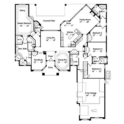 santa fe house plans winterbay santa fe home plan 047d 0060 house plans and more