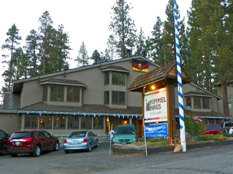 German Restaurant California by 36 Hours In Lake Tahoe By The New York Times On Citymaps