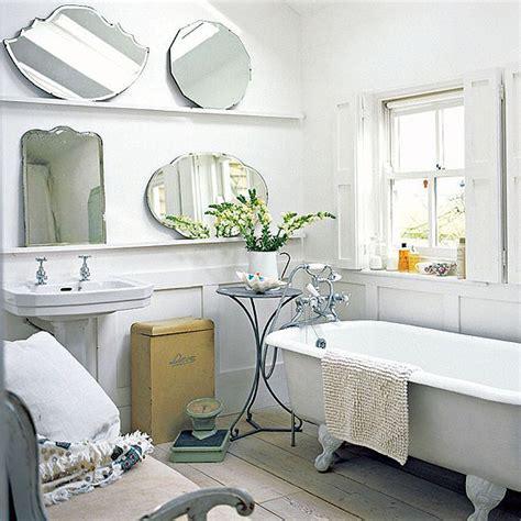 Country Bathroom Decorating Ideas white farmhouse bathroom bathroom vanities housetohome
